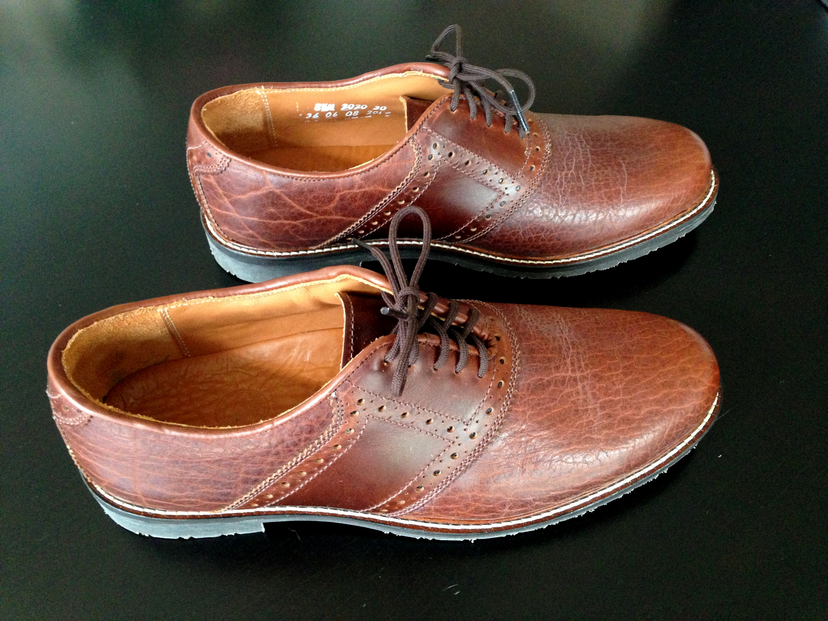 D O P Review Buffalo Jackson Bison Leather Saddle Shoes